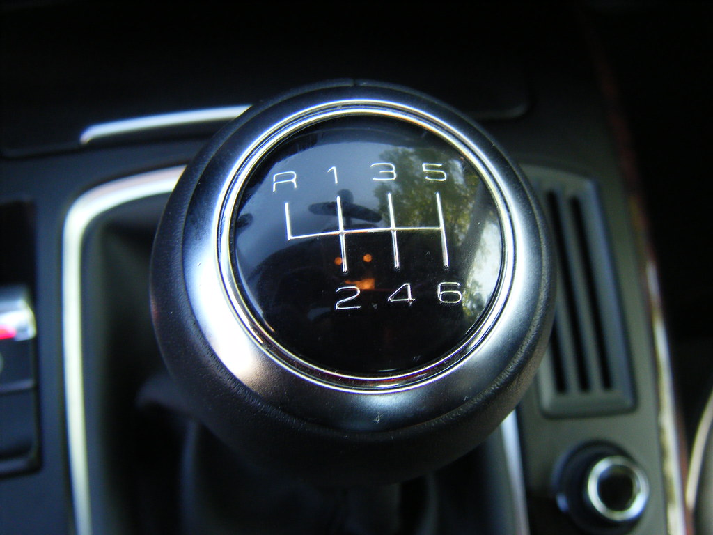 Audi A5 Coupe 6-Speed Manual Transmissio by Unofficial Audi Blog, on Flickr