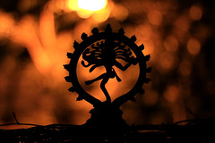 Explored! - AWOB - 5 - Nataraj - The Lord of Dance (2k Photography) Tags: street orange night canon 50mm dance god bokeh f14 2k nataraj madbokeh kissx2 ~2|{~ pushpdeeppandey