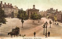 Chipping Norton - Market Place (pepandtim) Tags: early postcard sheffield nostalgia nostalgic actor 1983 1910 1909 chippingnorton davidniven neillroad 33cn87 01031909