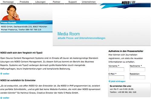Media Room ohne Media?