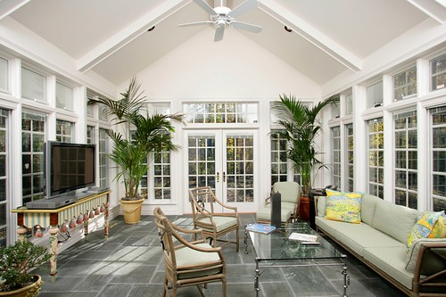 Bloomfield Construction -Sunroom Additoni