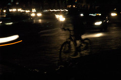 night ride (wishfish) Tags: bike mexicocity darkness andlight