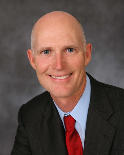 """Rick Scott Head Shot"" by Governor Rick Scott on flickr"