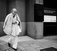Thinking is free (Ian Brumpton) Tags: street portrait urban blackandwhite bw london blancoynegro blackwhite candid kingscross biancoenero streettheatre documentaryphotography howdeepisyourlove freethinking londonstreetphotography scattidistrada strollingwithstyle aimlessstrolling blackwhiteheartbeats thinkingisfree
