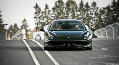 458. (Denniske) Tags: verde green field canon photography eos is groen track italia dof bokeh 10 04 automotive ferrari april l 10th mm grn dennis circuit 70200 depth f28 ef verte 2010 on nordschleife nrburgring noten nrburg lseries touristen 458 llens fahrten 40d denniske dennisnotencom kmm458