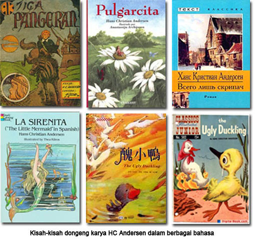 komik hc andersen, hc andersen comic, books, buku hc andersen, cerpen, cerita anak