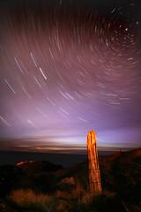 aIMG_4173_edited-1 (paddimir) Tags: night star scotland post north pole trail barra westernisles outerhebrides startrail barraigh april2010