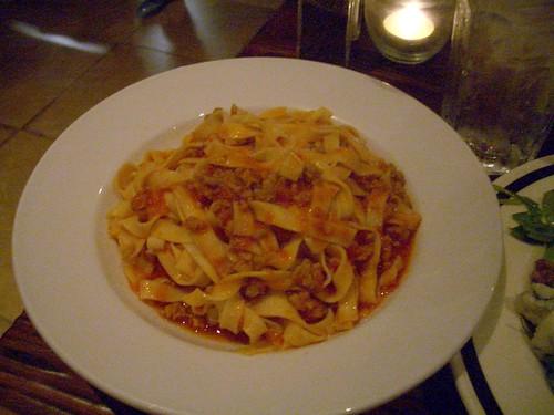 Osteria Mamma Tagliatelle bolognese