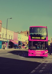 Pinkish Style.. =P (- M7D . S h R a T y) Tags: uk pink bus style february pinkish sw1 wordsbyme allrightsreserved