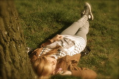 Hazy days (imispaceman) Tags: park summer sun love dream relaxing days hazy sophia carefree