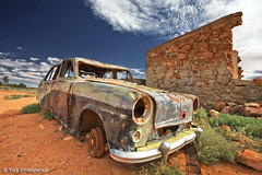 Deserted Car (-yury-) Tags: abandoned car silverton ruin australia nsw outback deserted brokenhill
