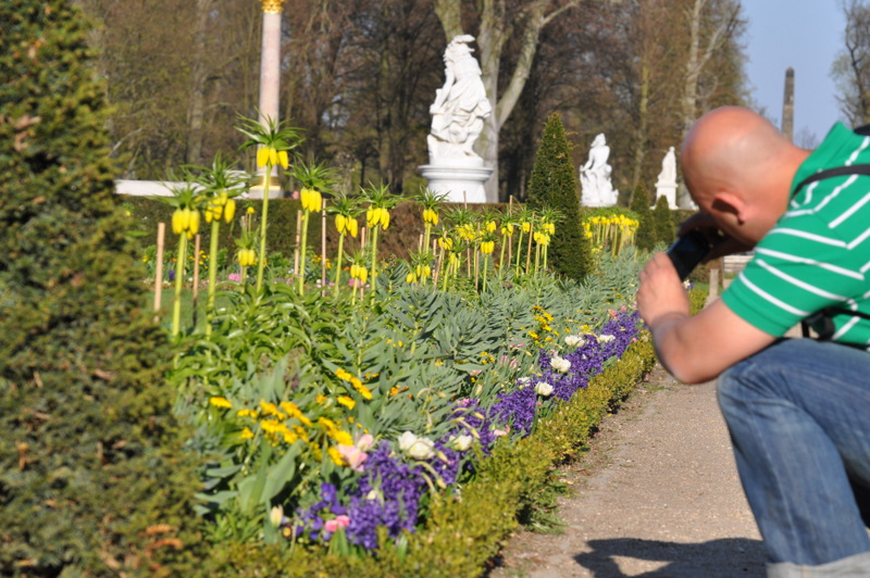 Fotografen im Park