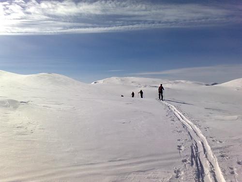 På vei mot Nonsholten på Blåfjell
