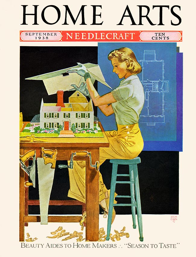 Home Arts cover, Sept. 1938