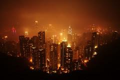 My fogged out vacation ! (mozilla monster) Tags: vacation holiday hongkong thepeak d90 sigma1020 1020sigma