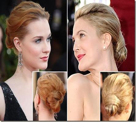 penteados coques