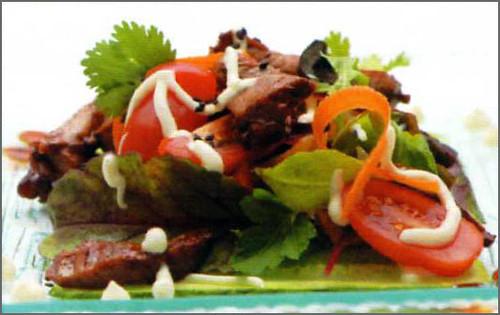 Тайский салат с говядиной 4543300352_2191ce7116