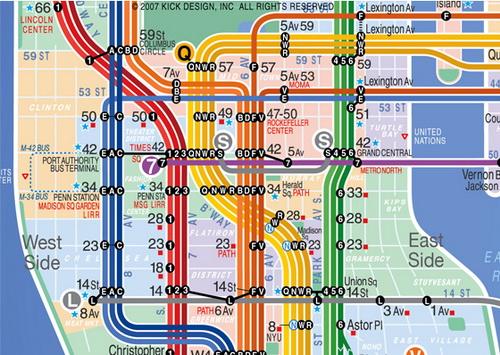 SubwayMapMidtown