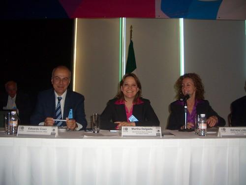 Edoardo Croci al convegno OCDE sullo sviluppo sostenibile a Guadalajara, 10-12 novembre 2008