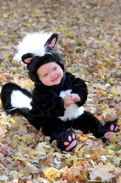 her first halloween costume.