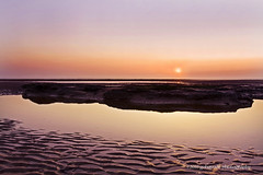 listen to the colours (gobayode photography...times) Tags: sea sun seascape beach nature landscape colours earth land cleveleys sunscape wonderfulworld beautifulworld fyldecoast naturecolours twilightcolours