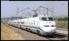 Euromed en L'Arbo (javier-lopez) Tags: barcelona train tren trenes railway alicante 101 arbo renfe viajeros adif ffcc euromed 28072008 grandeslneas larbo