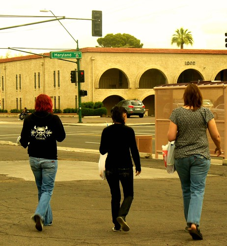 roller derby girls day off