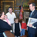 Sean Nienow & Family with Governor Pawlenty