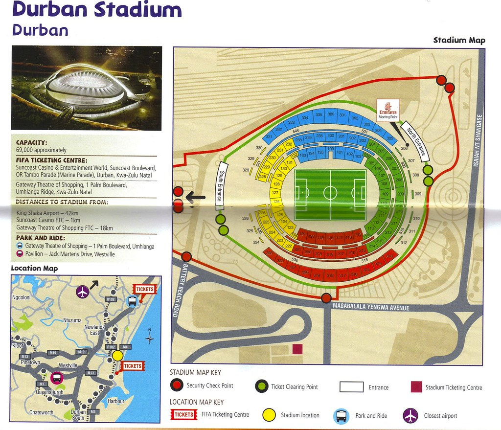 Fifa 2010 world cup stadium durban moses mabhida seat plan park download fifa 2010 durban moses mabhida stadium map seat plan park and ride info and ticketing info the large size sciox Gallery