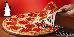 beeb and pizza (nicktassone) Tags: pizza bieber howdoyouspellhisname justinbeiber