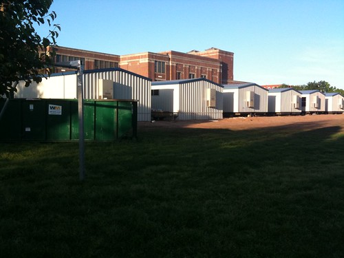 New Portables at Classen SAS in Oklahoma City