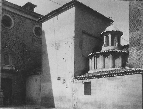 Iglesia de Santa Leocadia y Convento de Santo Domingo el Antiguo a comienzos del siglo XX