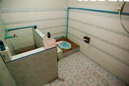 thai bathroom. Tak SEE REEVES  Thai Toilet