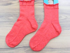 Heart and sole socks