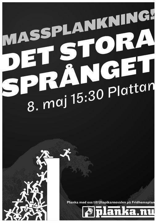 Massplankning 8 maj