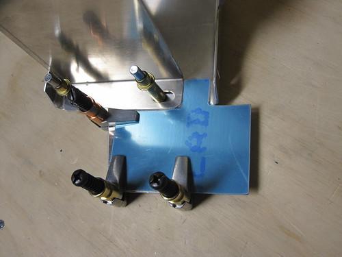 Airframe Ground Bracket Cut