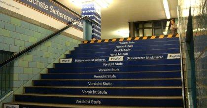 Sicherer-Kampagne von Paypal in Berlin