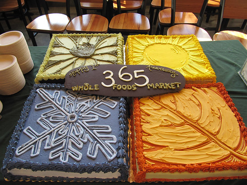 Flickriver Photoset Whole Foods Market Anniversary Birthday Celebration Cakes By Tony The Pastryarch Albanese