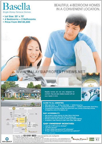 Single Storey Terrace Homes For Sale in Bandar Putera 2 Klang