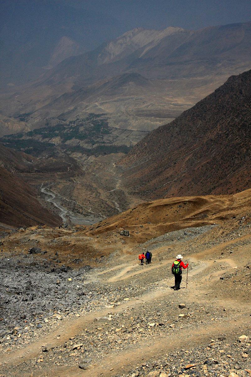 Wokół Annapurny – długa droga w dół i Poon Hill