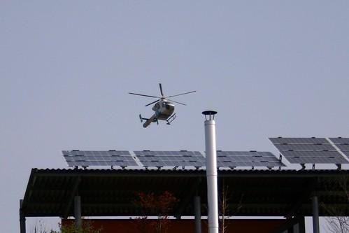 Police in the sky I
