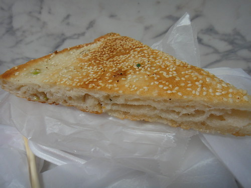 sesame and green onion pancake