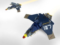 Stealth Assault Fighter (Pierre E Fieschi) Tags: fighter ship lego pierre space jet micro futuristic microspace fieschi microscale microspacetopia