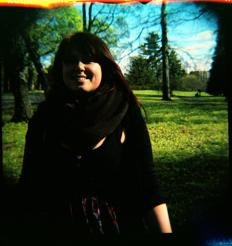first two rolls with diana f+.