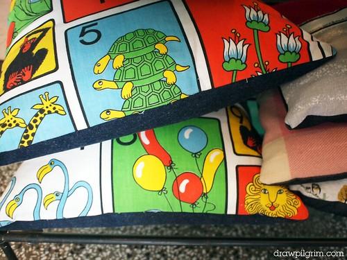 arthur's circus: cushions
