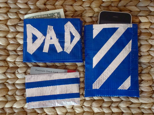 Duck Tape Gifts for Dad