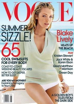 Blake Lively Haziran Vogue 2010