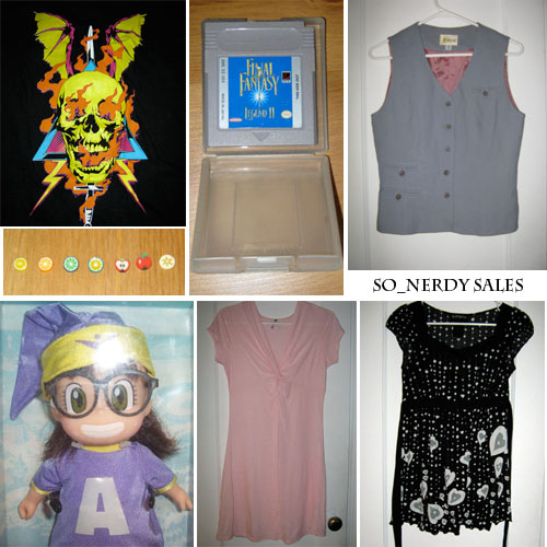 So_nerdy Sales