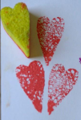 compressed sponge stamps 015