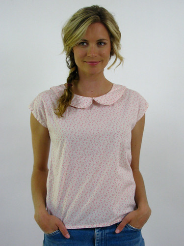 VINTAGE 70's PETER PAN COLLAR TEE